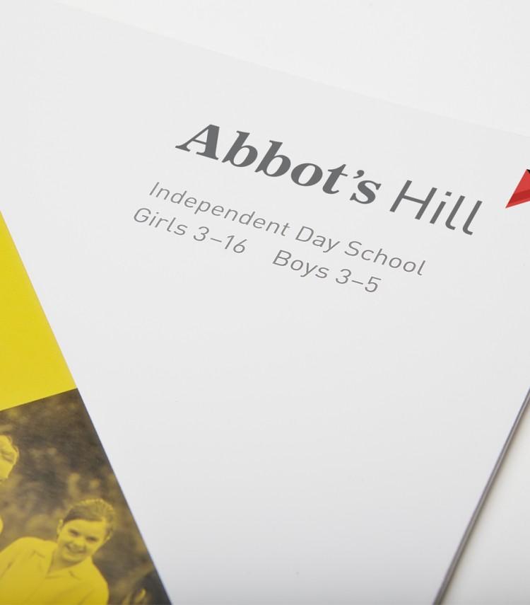 Abbots Hill prospectus cover
