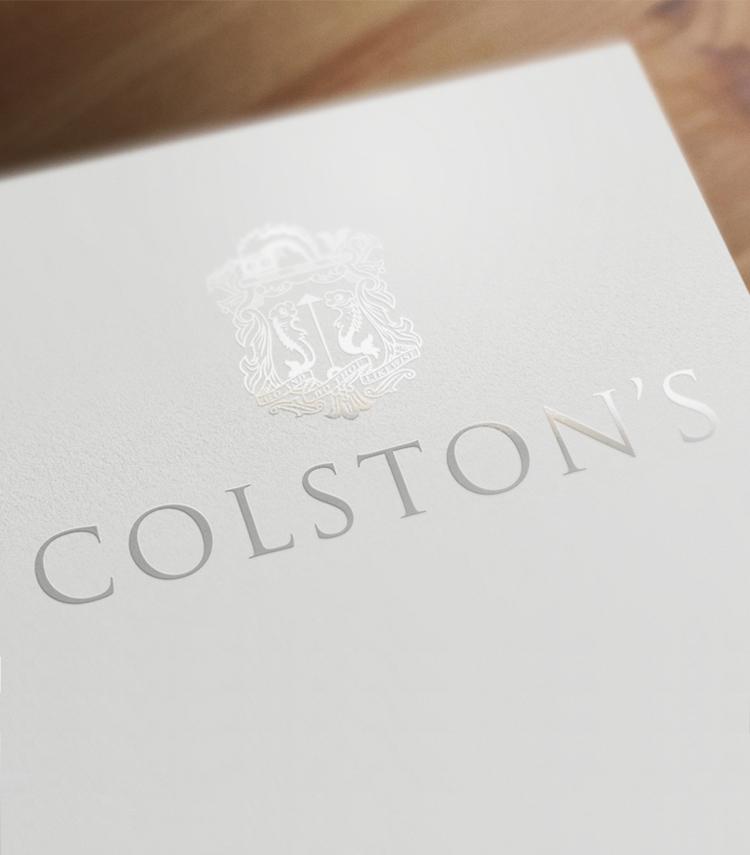 Colstons-logo-spot-uv