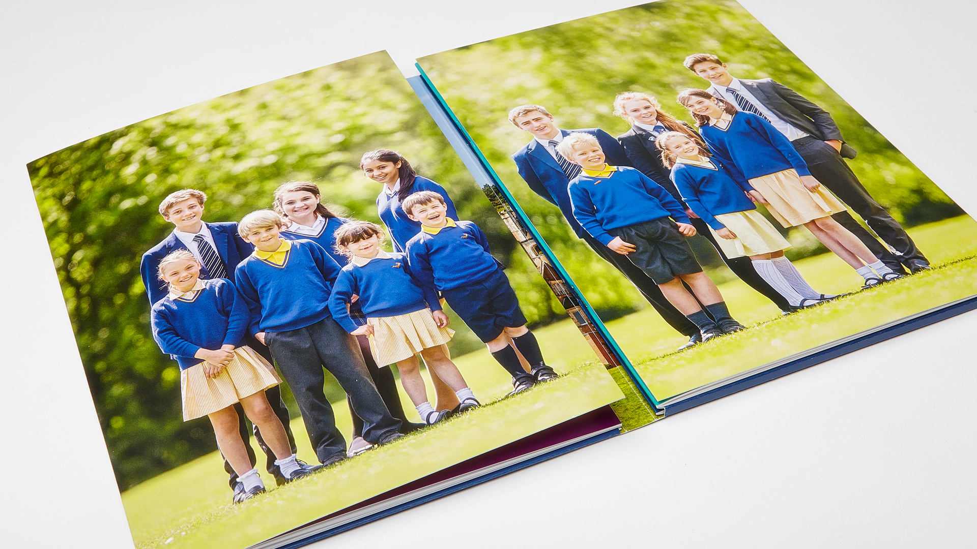 Duke Of Kent School prospectus open spread