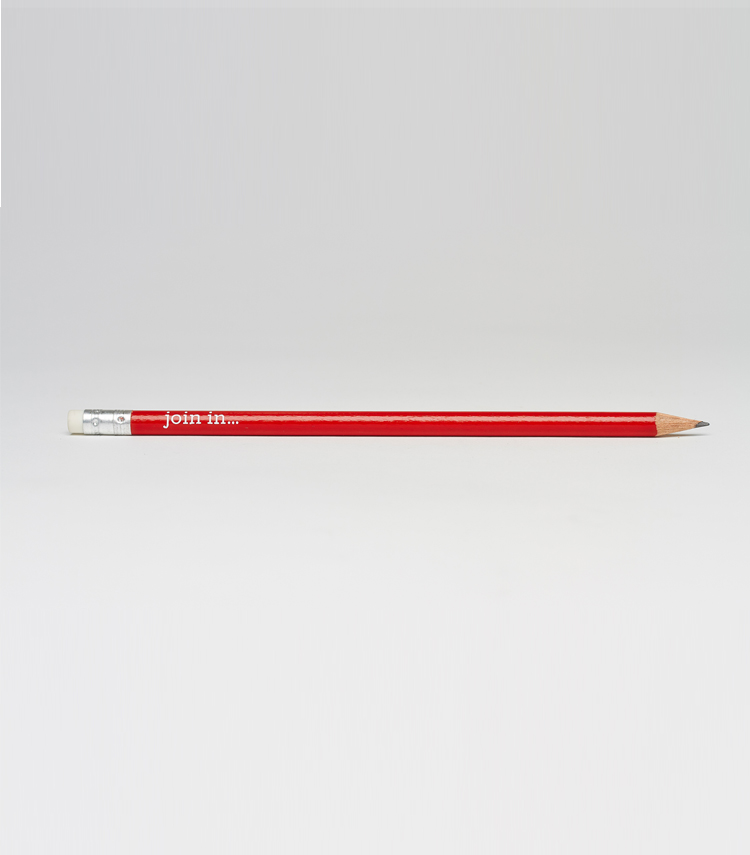 Godolphin And Latymer branded pencil