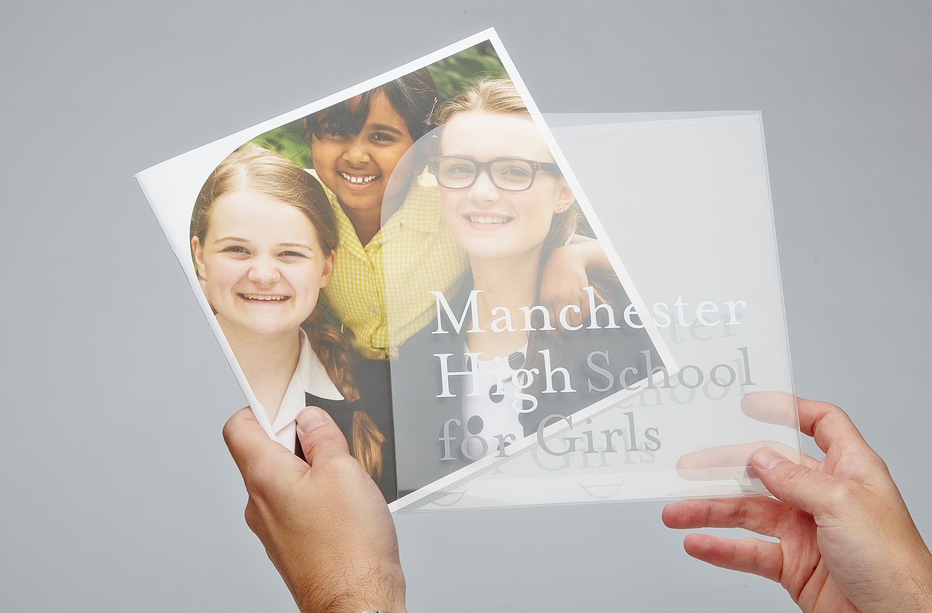 Manchester High School For Girls prospectus and sleeve